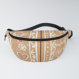 Gingerbread house Fanny Pack