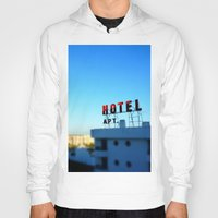 budapest hotel Hoodies featuring Hotel by Elliott Kemp Photography