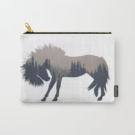 Woodland Horse Carry-All Pouch