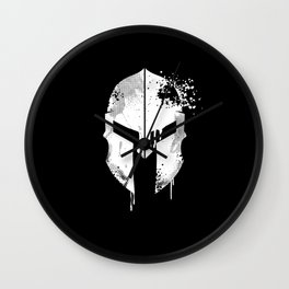 Spartan Helmet   Warrior Gift Idea Wall Clock