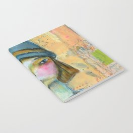 Girl in the Blue Hat Notebook