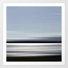 eau argenté - seascape no.02 Art Print