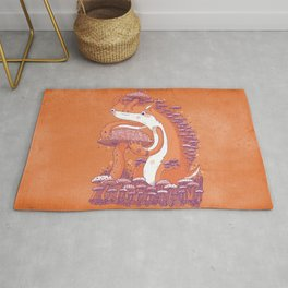 The Mushroom collector Rug