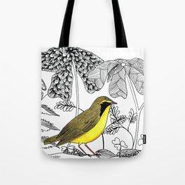 Kentucky Warbler Tote Bag