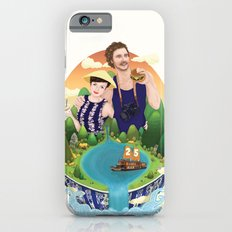 Couple custom illustration for I&S Slim Case iPhone 6s