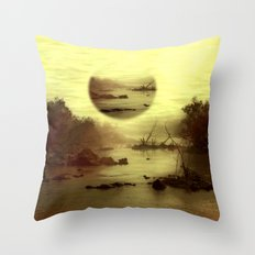 Illusive visions float above my head... Throw Pillow