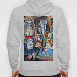 Pablo Picasso - Les Femmes d'Alger (Women of Algiers) 1955 Artwork Hoody