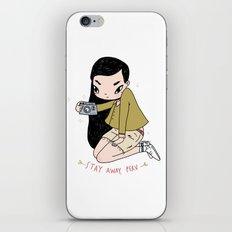 Stay away, Perv --- iPhone & iPod Skin