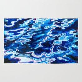deep waters- ocean Rug