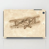 airplane iPad Cases featuring Airplane by LaDa