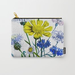 Asters by Kathy Morton Stanion Carry-All Pouch