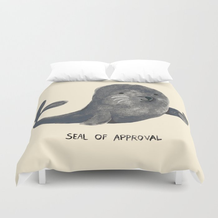 Seal Of Approval Duvet Cover