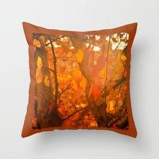 Fire  Fantasy Throw Pillow