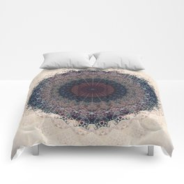 Modern Mandala art Comforters