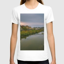 Evening at the river T-shirt