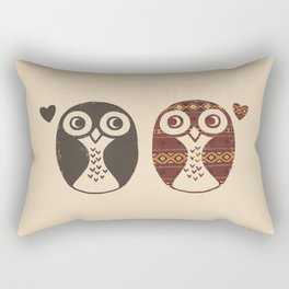Opposites Attract Rectangular Pillow