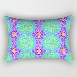 Theta Grid Rectangular Pillow
