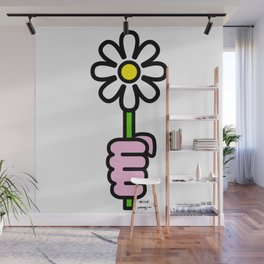 Daisy punch Wall Mural