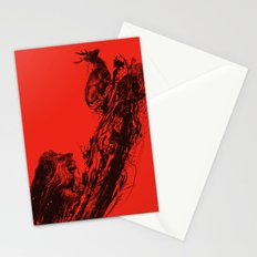 Intense Chasing II Stationery Cards