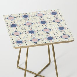 Pastel Tile Side Table