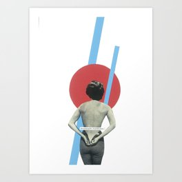 No entry without permission Art Print