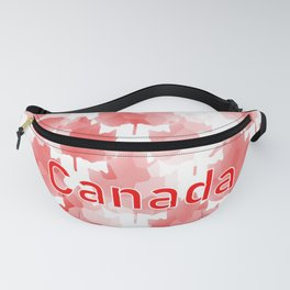Canada Maple Leaf Fanny Pack