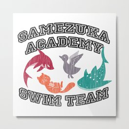 Samezuka Academy Swim Team Metal Print