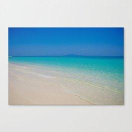 Blue Paradise Canvas Print