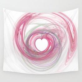 Valentine's Fractal VII - Light Wall Tapestry