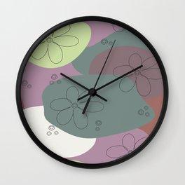 Floralism 1 Wall Clock