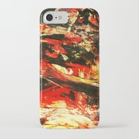 camp iPhone & iPod Cases featuring Camp Fire by James Peart