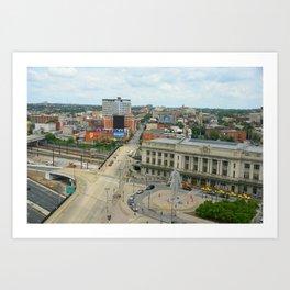 Penn Station, Baltimore Art Print