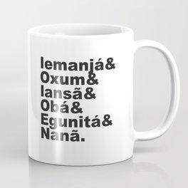 ORIXÁS Coffee Mug