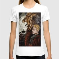 "dragon age inquisition T-shirts featuring Dragon Age Inquisition - Cullen - Fortitude by Barbara ""Yuhime"" Wyrowińska"