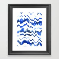 Blue Water Love #1 Framed Art Print
