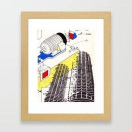 Marina City Framed Art Print