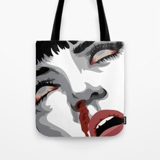 There goes mrs. Mia Wallace Tote Bag
