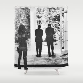 Questioning Legacy Shower Curtain