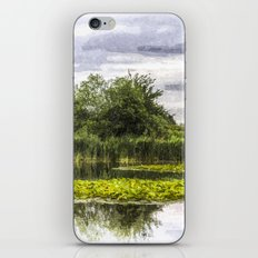 Lily Pond Art iPhone & iPod Skin