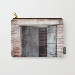 Venice Italy Shutters Carry-All Pouch