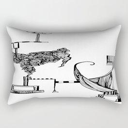 Checks & Balances Rectangular Pillow