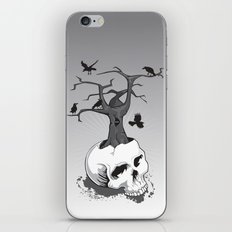 Skull and Tree iPhone & iPod Skin