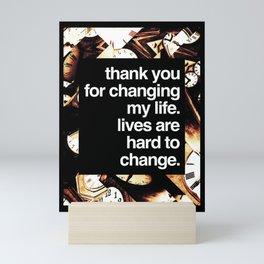 Changing My Life Mini Art Print