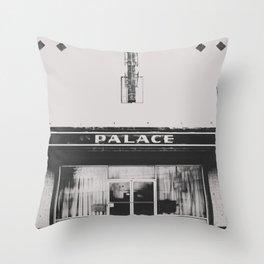 Palace Theater - Marfa, Texas Throw Pillow