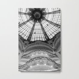 A Real Department Store - Look Up Metal Print