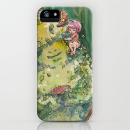 My Forest Friend iPhone Case