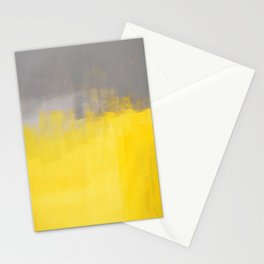 A Simple Abstract Stationery Cards