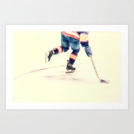 The Sport Of Hockey Art Print