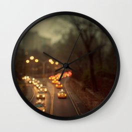 Taxicab Confessions - New York Wall Clock