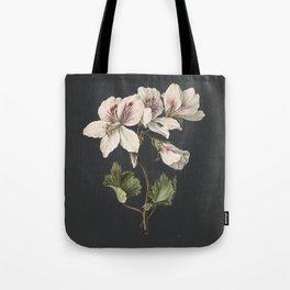 M. de Gijselaar - Pelargonium album bicolor (1830) Tote Bag